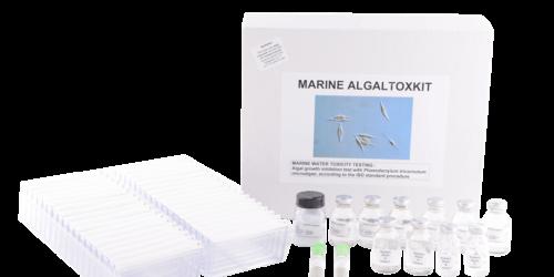 Microbiotests Algaltoxkit M_marine algae toxicity test with Phaeodactylum tricornutum