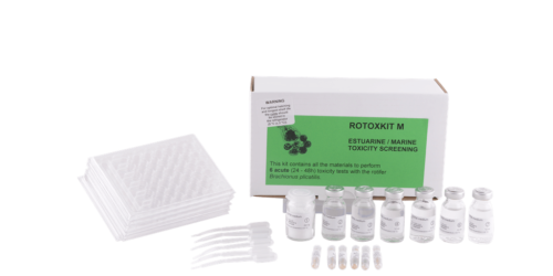 Microbiotests Rotoxkit M_marine rotifer toxicity test with Brachionus plicatilis